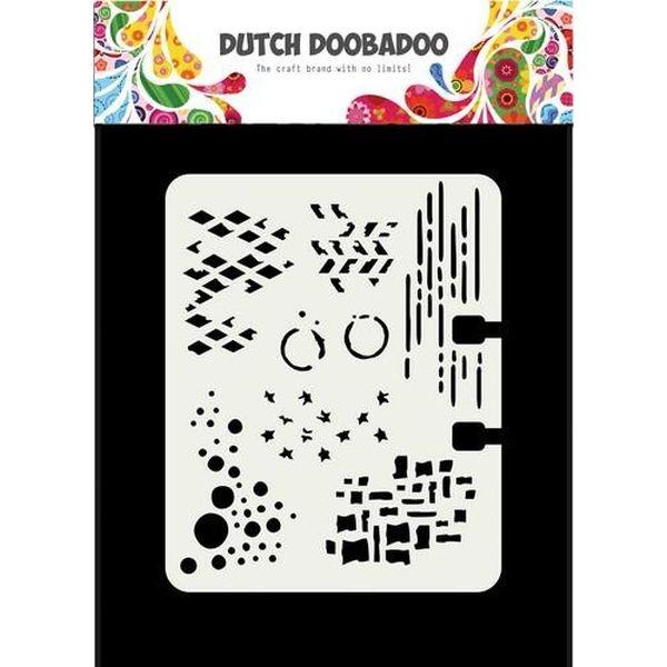 Dutch Doobadoo Mask Stencil Rollerdex Template