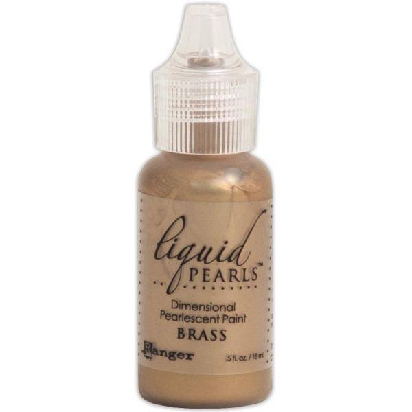 Ranger Liquid Pearls Brass