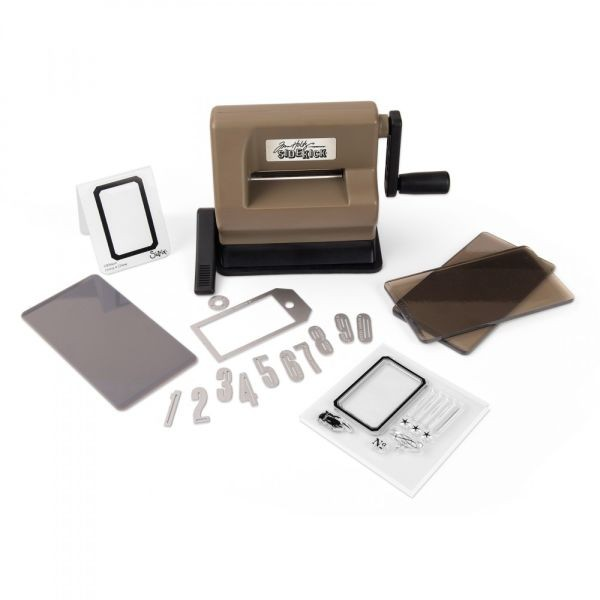Sizzix Sidekick Starter Kit Tim Holtz Brown & Black