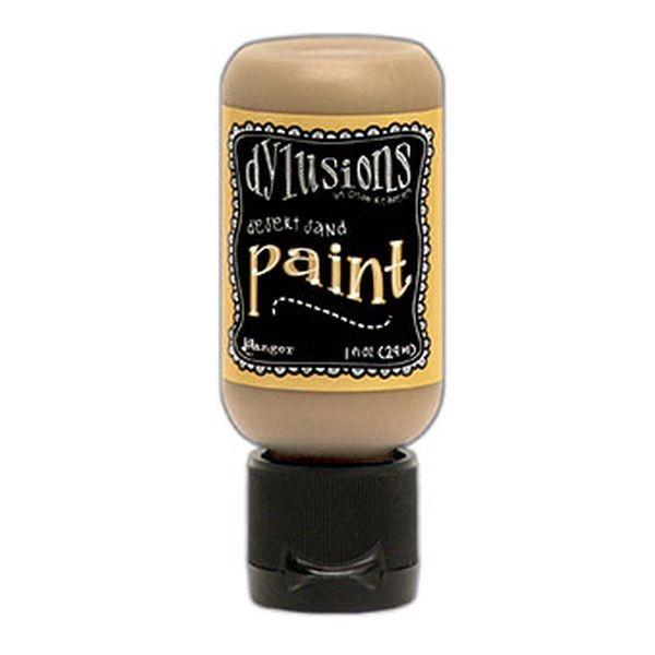 Dylusions Flip Cap Paint Desert Sand