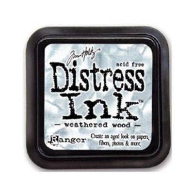 Distress Ink Mini Pad Weathered Wood