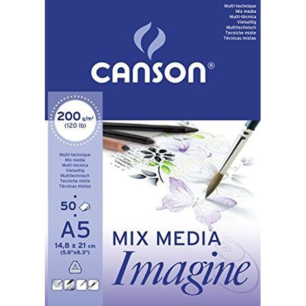 Canson Mix Media Imagine A5