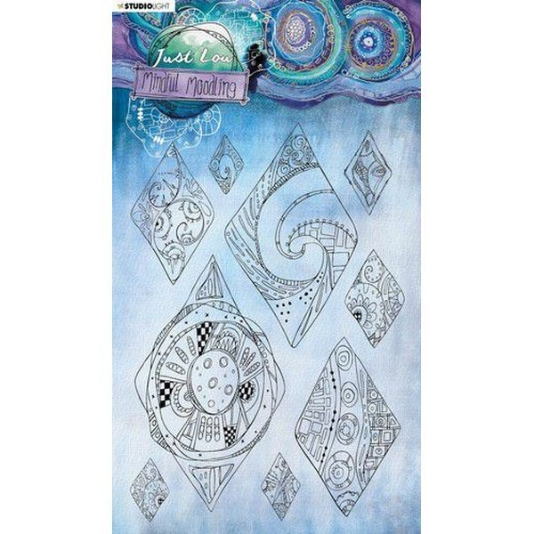 Studio Light Mindful Moodling Clearstamps A5 No. 50