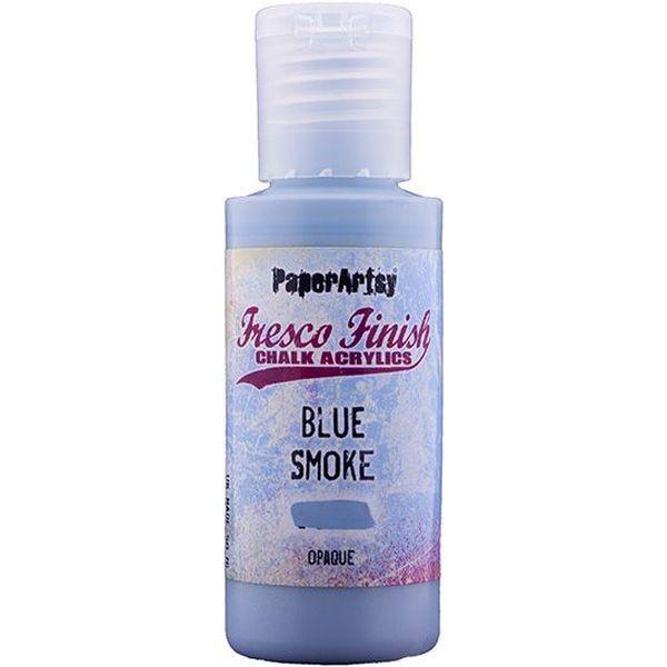 Fresco Finish Blue Smoke - Opaque