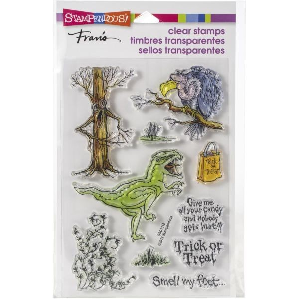 Stampendous Fran´s Clearstamps Creature Tricks