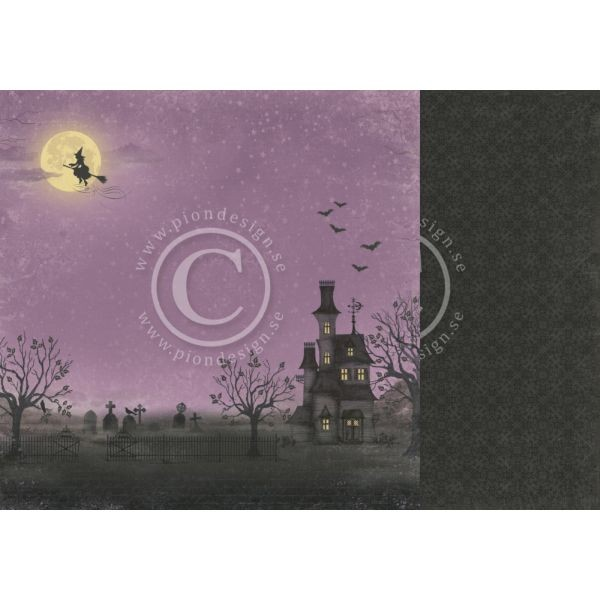 Pion Design The Witching Hour Haunted House