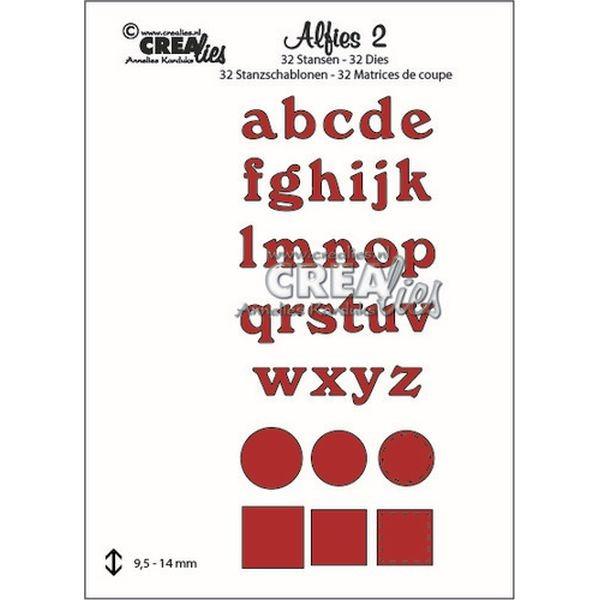 CreaLies Alfies No. 02 Capital Lowercase