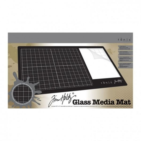 Tim Holtz Glass Media Mat A3 by Tonic