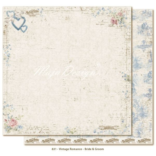 Maja Design Vintage Romance Bride & Groom
