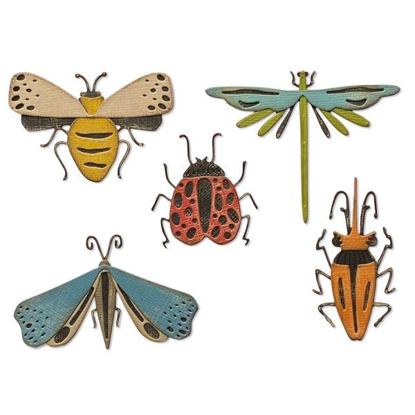 Tim Holtz Alterations Thinlits Funky Insects