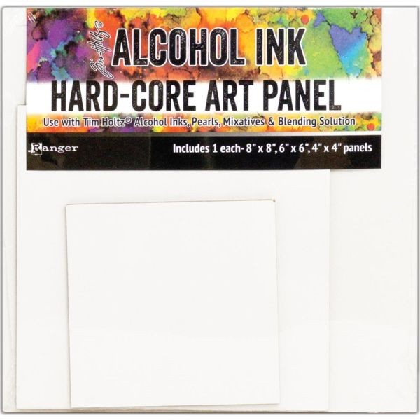 Tim Holtz Alcohol Ink Hard-Core Panels Square