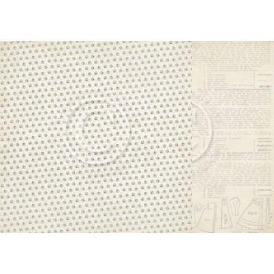 Pion Design Alma´s Sewing Room - Blue Fabric