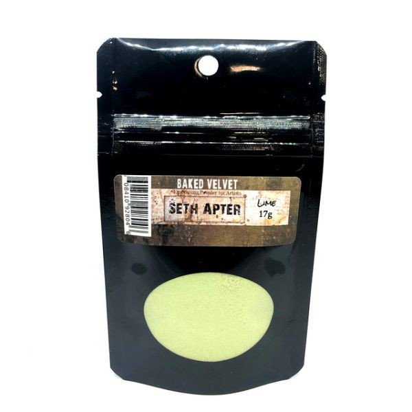 Seth Apter Baked Velvet Embossing Powder Lime
