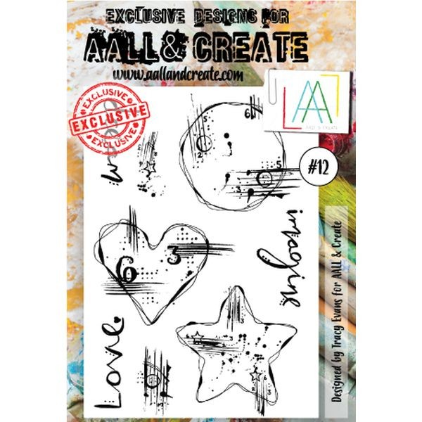 AALL & Create Clearstamps A6 No. 12