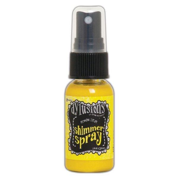 Dylusions Shimmer Spray Lemon Zest