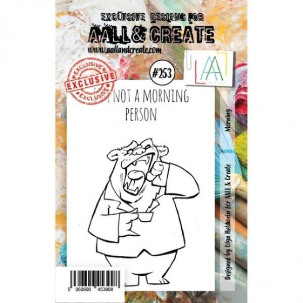AALL & Create Clearstamps A7 No. 253 Morning