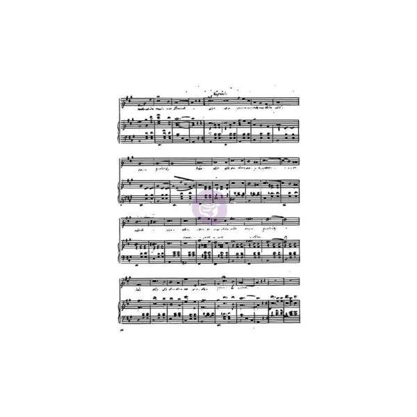 Finnabair Clearstamp Music to my Ears