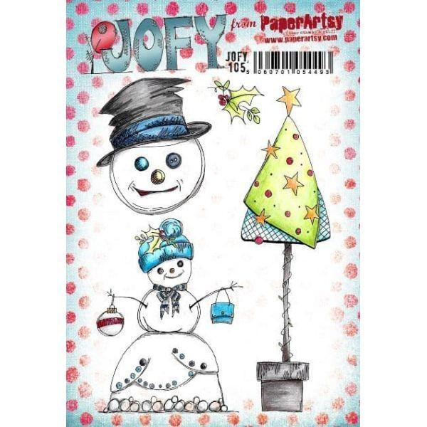 Paper Artsy JOFY Plate 105