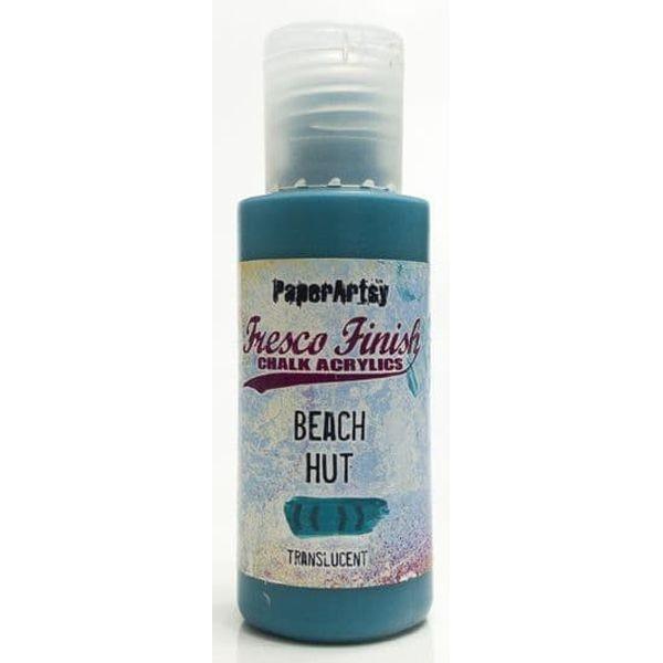 Fresco Finish 01 Bright-Turquoise Blues Beach Hut - Translucent