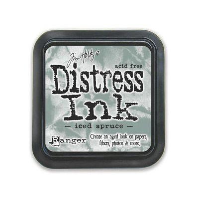 Distress Ink Mini Pad Iced Spruce
