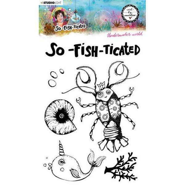 Studio Light by Marlene So-Fish-Ticated Clearstamps A5 No. 10