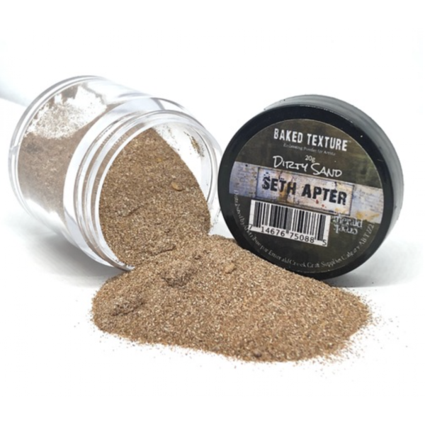 Seth Apter Baked Texture Embossing Powder Dirty Sand