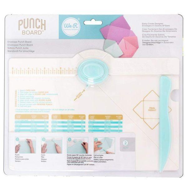 WeR Memory Keepers Envelope Punch Board