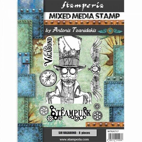 Stamperia Mixed Media Stamp Sir Vagabond