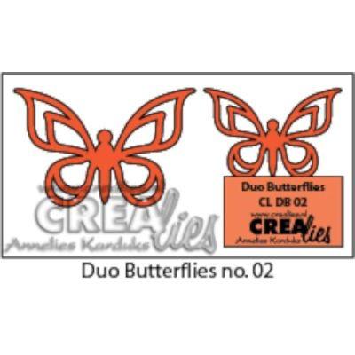 CreaLies Duo-Dies Butterflies No. 02