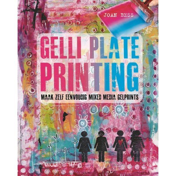 Gelli Plate Printing - Kosmos Boek nl