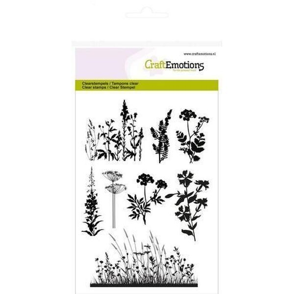 Craft Emotions Clearstamps Herbs Branches