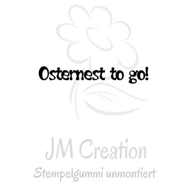 JM Creation Stempelgummi Osternest to go - nur online