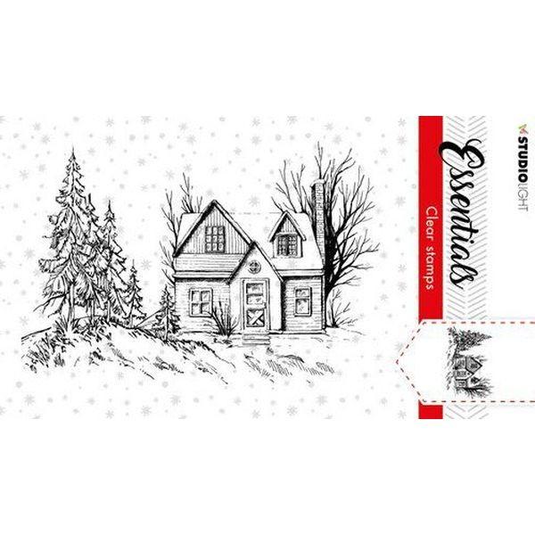 Studio Light Christmas Essentials Clearstamps A7 No. 90