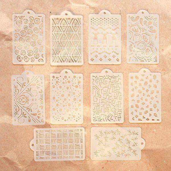 Elisabeth Craft Designs Stencil Pattern Stencil Pack