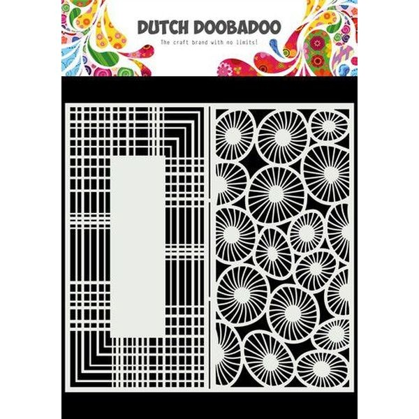 Dutch Doobadoo Mask Art Slimline Circles II