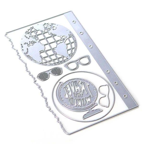Elisabeth Craft Designs Die Planner Essentials 28 - Globe
