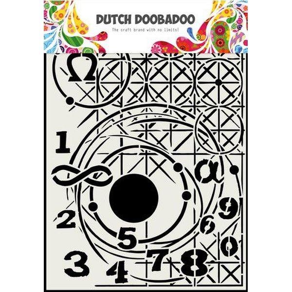 Dutch Doobadoo Mask Stencil A4 Geometry