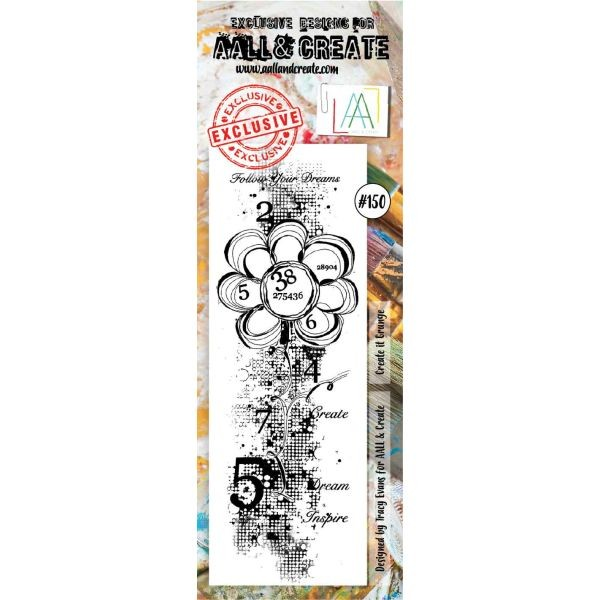 AALL & Create Border Clearstamps No. 150