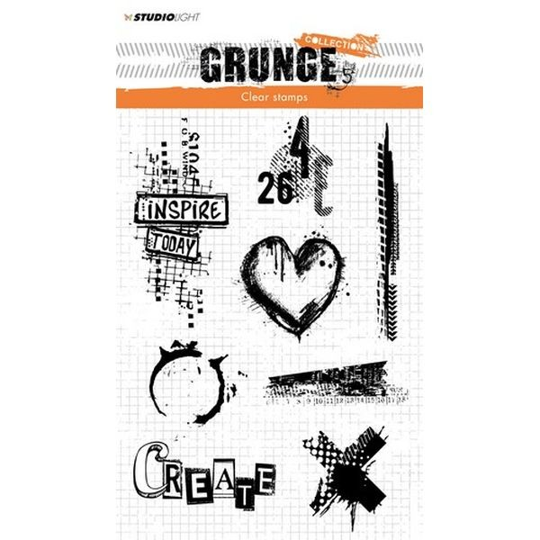 Studio Light Clearstamps Grunge Collection No. 363