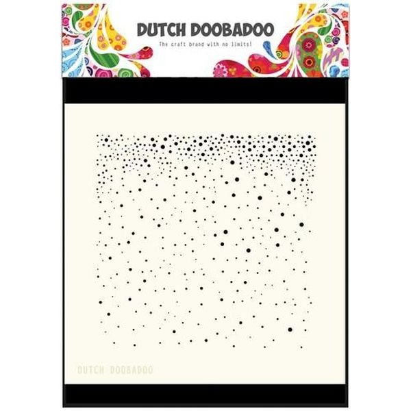 Dutch Doobadoo Mask Stencil 6x6 Snow