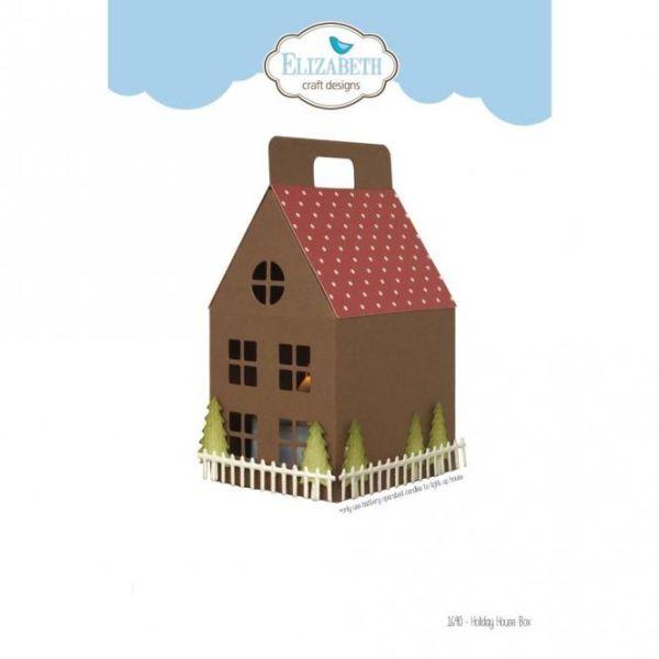 Elisabeth Craft Designs Die Holiday House Box