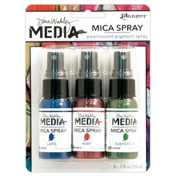 Ranger Mica Sprays 3er-Pack by Dina Wakley
