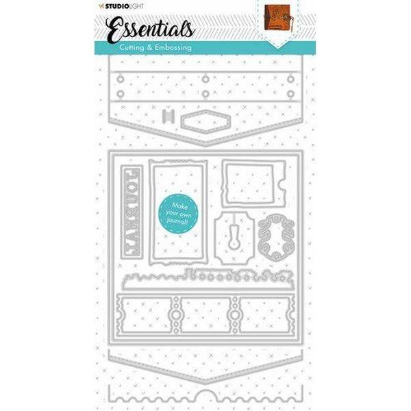 Studio Light Cutting & Emboss Die Journal Essentials No. 383