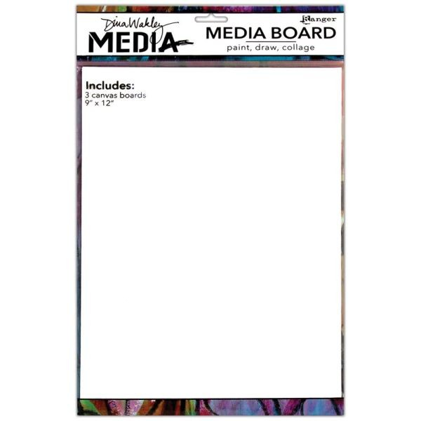 Dina Wakley Media Board 9x12