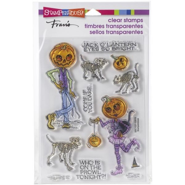 Stampendous Fran´s Clearstamps Pumpkin People