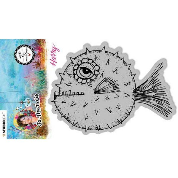 Studio Light by Marlene So-Fish-Ticated Clingstamps No. 15 Harry