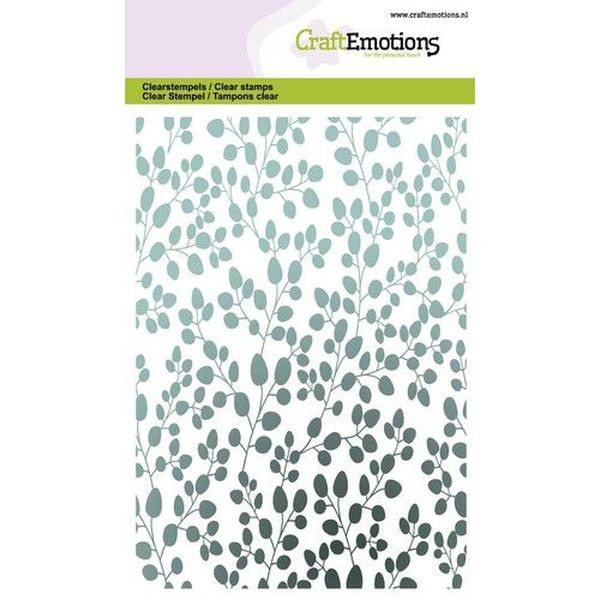 Craft Emotions Clearstamps Eucalyptus Background