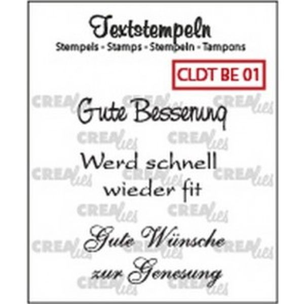 CreaLies Text Clearstamps Besserung01