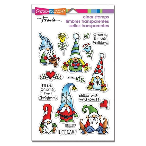 Stampendous Fran´s Clearstamps Holiday Gnomes