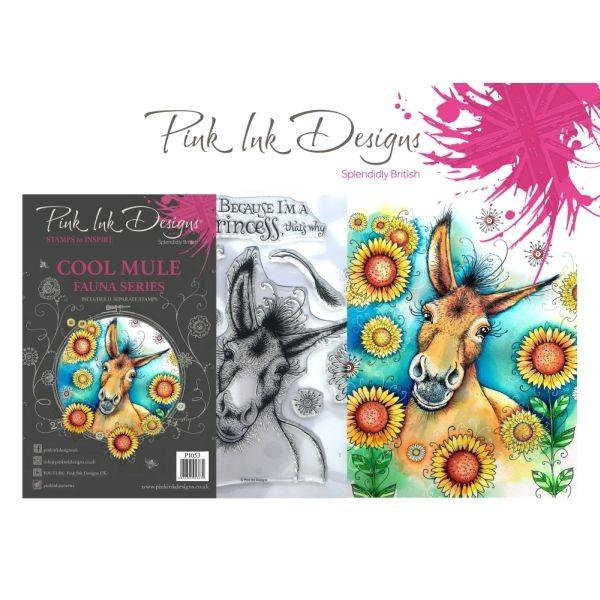 Pink Ink Designs Clearstamp Set Cool Mule